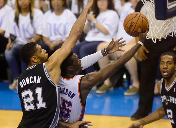 Thunder V Spurs