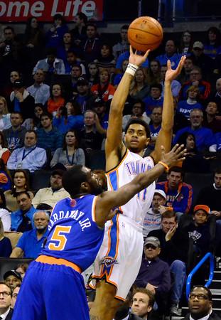 Thunder V Knicks