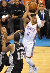 Thunder vs Spurs (Playoff game 6)
