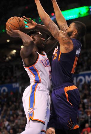 Thunder host Suns