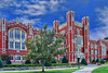 Evans Hall, University of Oklahoma Campus.