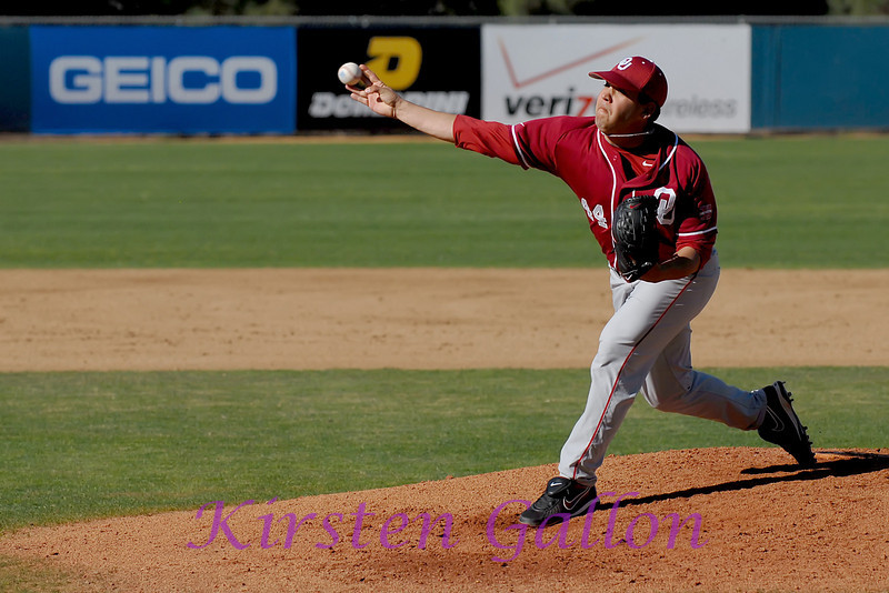 Michael Rocha, Oklahoma Sooners starting pitcher.