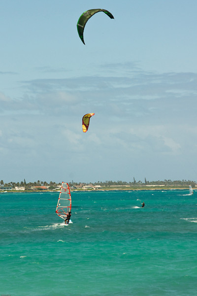 Windsurfing in Kailua-10