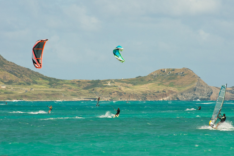 Windsurfing in Kailua-23