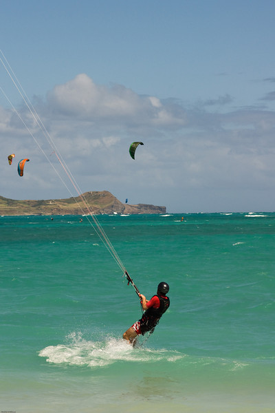 Windsurfing in Kailua-56