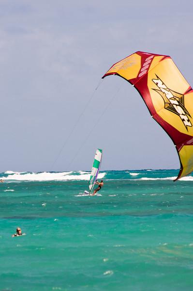 Windsurfing in Kailua-40