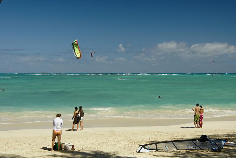 Windsurfing in Kailua-98