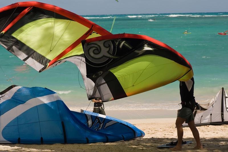 Windsurfing in Kailua-63