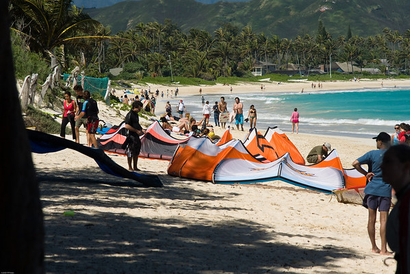 Kailua Bch Wind Surfing 2/15/09