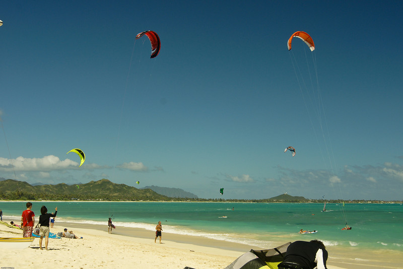Windsurfing in Kailua-83