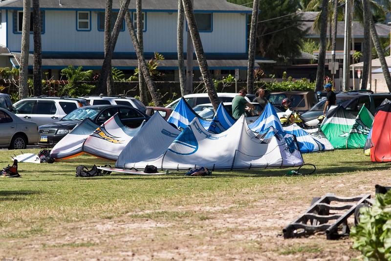 Windsurfing in Kailua-9