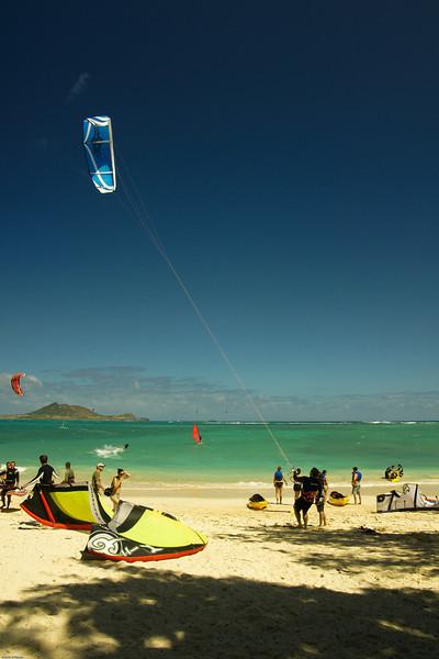 Windsurfing in Kailua-74