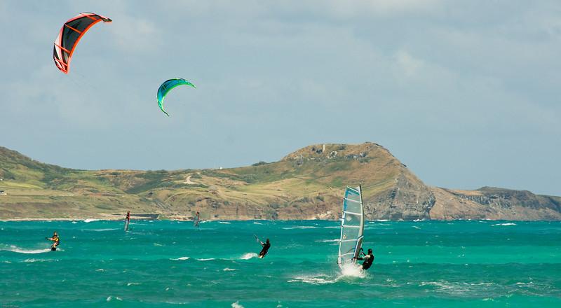 Windsurfing in Kailua-26
