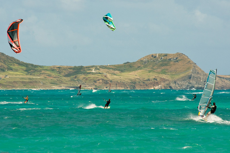Windsurfing in Kailua-24