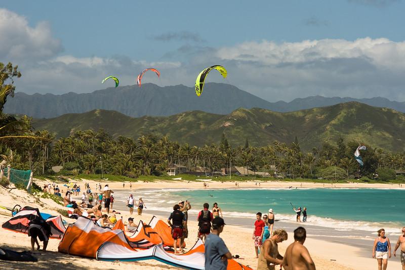 Windsurfing in Kailua-4