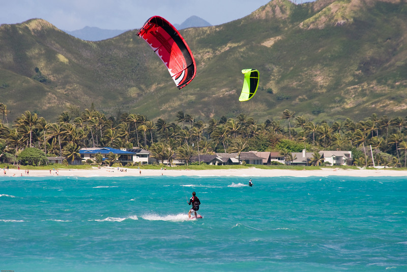 Windsurfing in Kailua-34