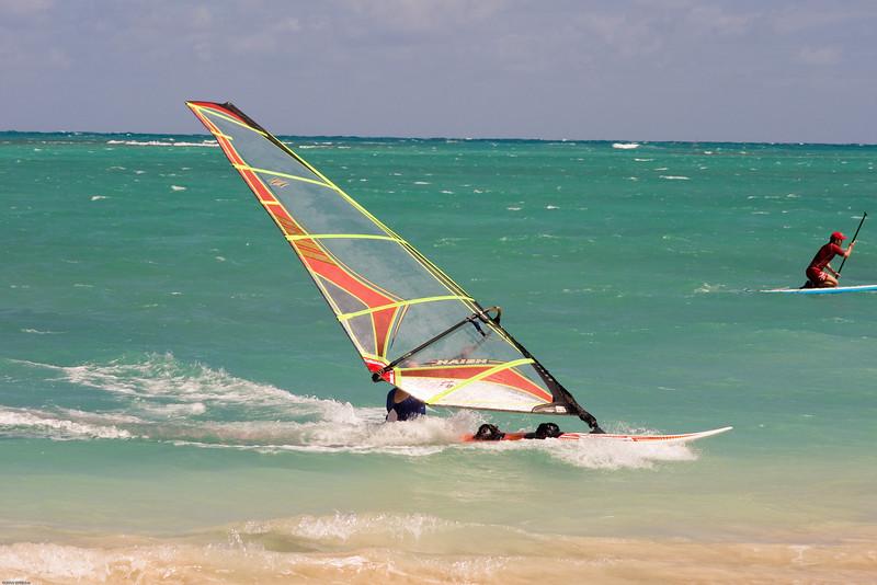 Windsurfing in Kailua-48