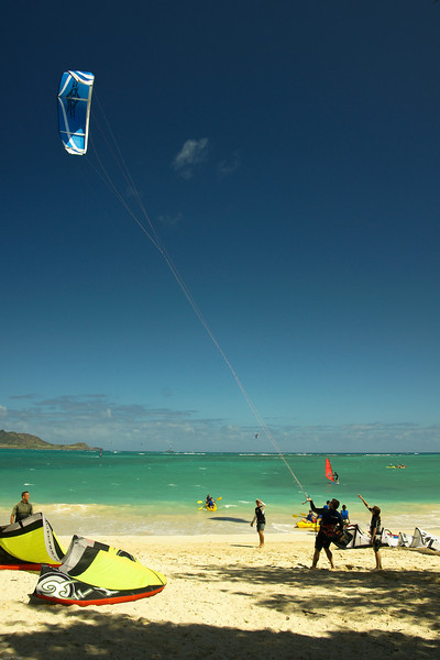 Windsurfing in Kailua-71