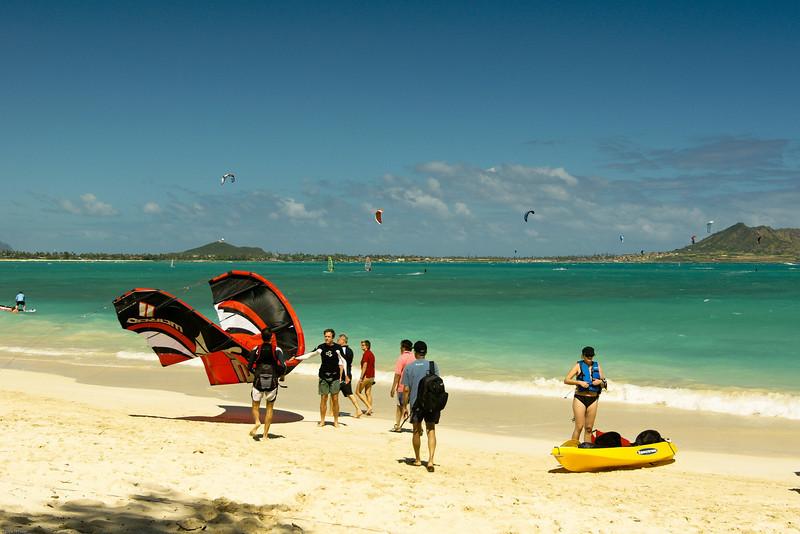 Windsurfing in Kailua-88