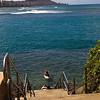 Kewalo Surf Scene-1
