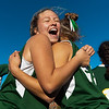 Oakmont's Abbi Walks and Jessica Ciesluk celebrate after defeating Quabog, 5-1, in the Central Mass. Division 2 field hockey championship at Grafton High School on Friday, Nov. 11, 2016. SENTINEL & ENTERPRISE / Jim Marabello