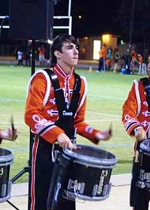Oakridge vs Vacaville, September 21, 2012<br /> <br /> VHS Drumline keeps the beat