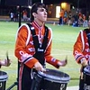 Oakridge vs Vacaville, September 21, 2012<br /> <br /> VHS Drumline keeps the beat