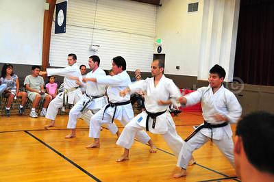Obon Festival - Karate Demonstration, Palo Alto Buddhist Temple, CA    http://www.jkasv.com