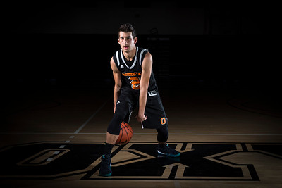 Occidental Basketball Portrait Shoot