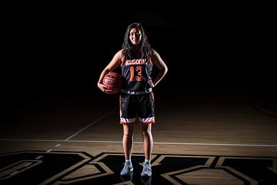 Occidental Basketball Portrait Shoot
