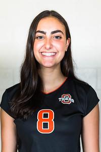 Lara Minassians Occidental Volleyball