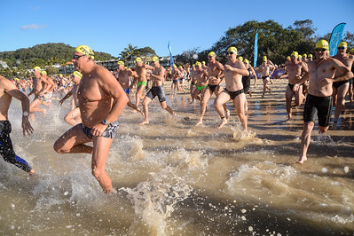 Splash! - The Start - 2013 Eyeline 1000 Noosa Ocean Swim, Noosa Heads, Sunshine Coast, Queensland, Australia, 1 November. Photos by Des Thureson disci.smugmug.com