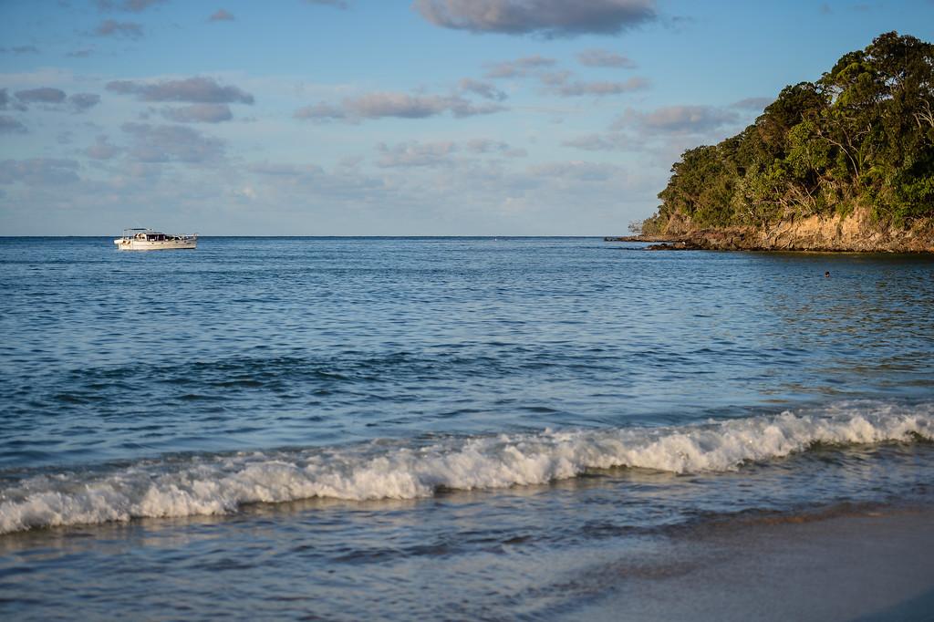 Idyllic afternoon scene on Laguna Bay - 2013 Eyeline 1000 Noosa Ocean Swim, Noosa Heads, Sunshine Coast, Queensland, Australia, 1 November. Photos by Des Thureson disci.smugmug.com
