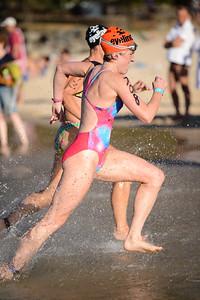 Nice athletic stride - Finish -  2013 Eyeline 1000 Noosa Ocean Swim, Noosa Heads, Sunshine Coast, Queensland, Australia, 1 November. Photos by Des Thureson disci.smugmug.com
