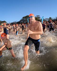 Splash! - The Start - 2013 Eyeline 1000 Noosa Ocean Swim, Noosa Heads, Sunshine Coast, Queensland, Australia, 1 November. Photos by Des Thureson disci.smugmug.com