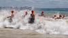 "Mooloolaba Ocean Swim - Mooloolaba Multi Sport Festival Super Saturday, 15 March 2014. Camera 2 - Mooloolaba, Sunshine Coast, Queensland, Australia. Photos by Des Thureson - <a href=""http://disci.smugmug.com"">http://disci.smugmug.com</a>"