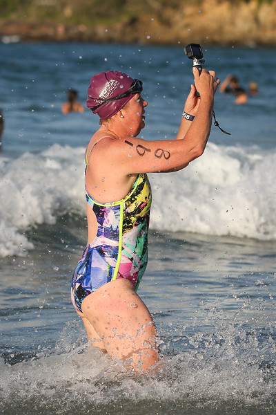 2017 ARENA Noosa 1000 Ocean Swim - Swim Finish, Race Finish