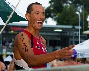 "2011 Noosa Ocean Swim (""Noosa Eyeline 1000"") at the Noosa Triathlon Multi Sport Festival"