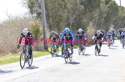 2014 All American Road Race 3/4 Masters: 5th for Dean in Field Sprint