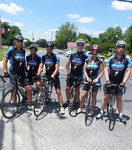 Laurel Bike and Brew: Mike, Marryanne, Paul, Fran, Cindy, Jamie
