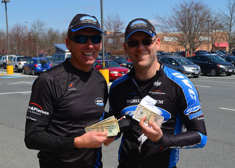 2014 All American Road Race 3/4 Masters: OVC in the money 2x!