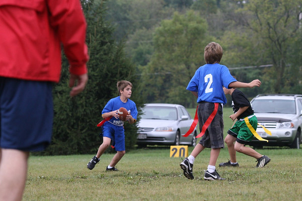Oct '09: Bristal WI - Nic Neau Flag Football