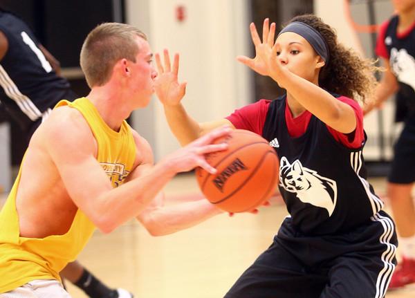 IUK Girls Basketball practice