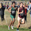 Photo courtesy of Zionsville boys cross country<br /> <br /> E.T. Browning runs at the IHSAA Shelbyville Semi-State on Saturday, Oct. 22.