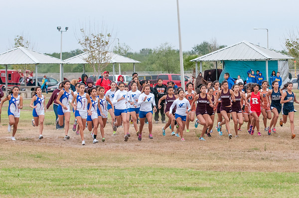 October 27, 2012 - Varsity Cross Country - Girls