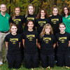 10-17-12<br /> Eastern HS cross country<br /> Bottom row from left: Brittany Neeley, Sarah Wagner, Breann Donson, Bethany Neeley. Top Row: Coach Brandon Mink, Avery Ewing, Jessie Sprinkles, Carly Jones, Elyssa DeAngulo, and Coach Kristi Reprogle.<br /> KT photo | Kelly Lafferty