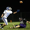 NWHS vs Tipton football<br /> Blake Hoover of Tipton reaches out to try and catch the pass that Northwestern's Brandon Curry missed.<br /> KT photo   Kelly Lafferty
