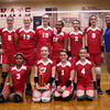 10-24-12<br /> City/County Championship volleyball game<br /> 7th Grade Kokomo Lady Wildkats Red champions<br /> Bottom row from left: Rickyua Listenbee, Sydney Murphy, Sara Hughes, Katelyn Dowden<br /> Top row from left: Kylee Lauderbaugh, Madison Wood, Emily Bryant, Kizzie Webb, Sequoia Breedlove, Courtland Cottle, coach Shannon Wolf<br /> KT photo | Kelly Lafferty