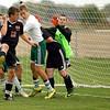 10-1-12 <br /> Boys Sectional Soccer<br /> Eastern HS vs Eastbrook HS<br /> Eastern scoring the goal to make it 2-2.<br /> KT photo | Tim Bath
