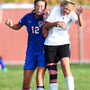 10-2-13<br /> Kokomo vs. Western girls soccer<br /> Kokomo's Taylor Sparling and Western's Bre Buckalew<br /> KT photo | Kelly Lafferty